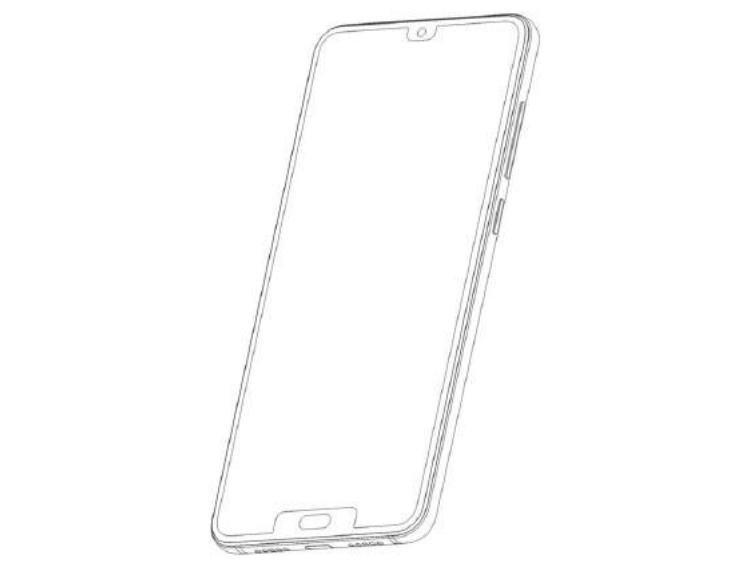 "ZTE патентует смартфон с двусторонним вырезом"""
