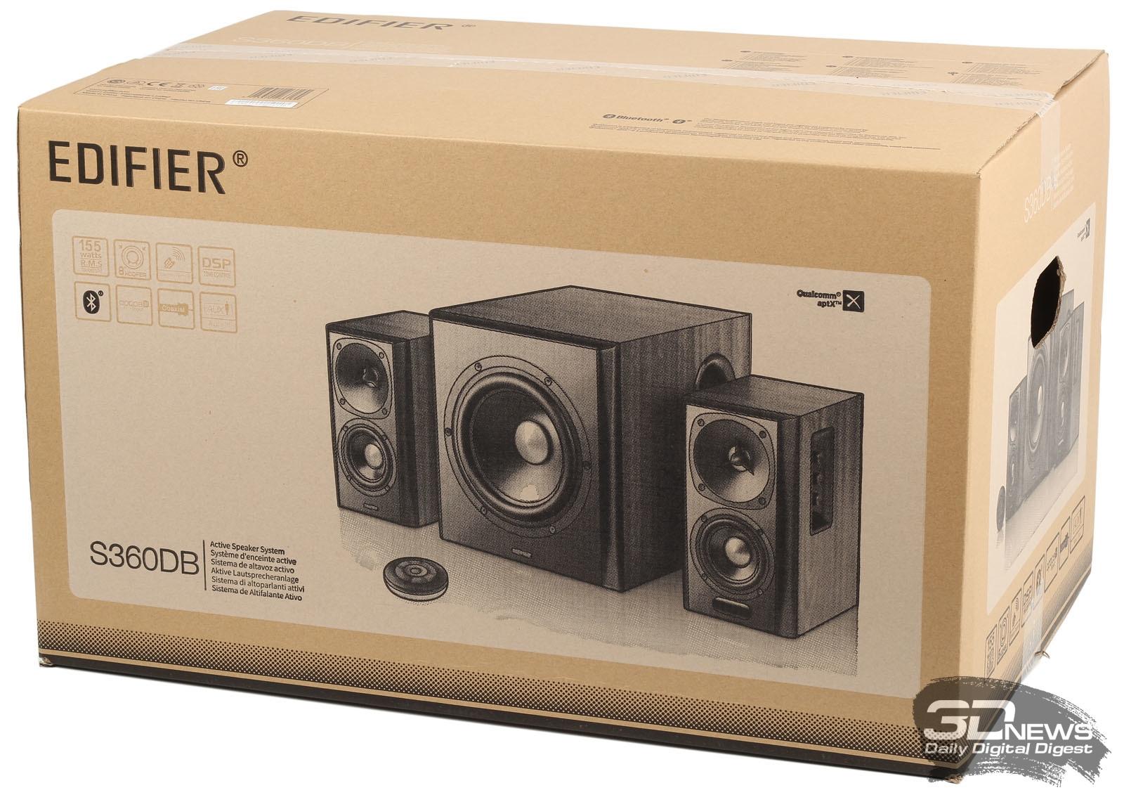 Акустика Edifier S360DB – музыка высокого разрешения