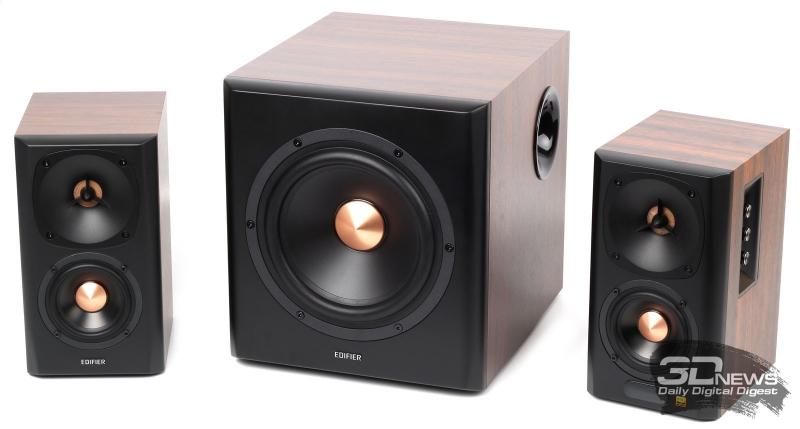 Внешний вид акустической системы Edifier S360DB