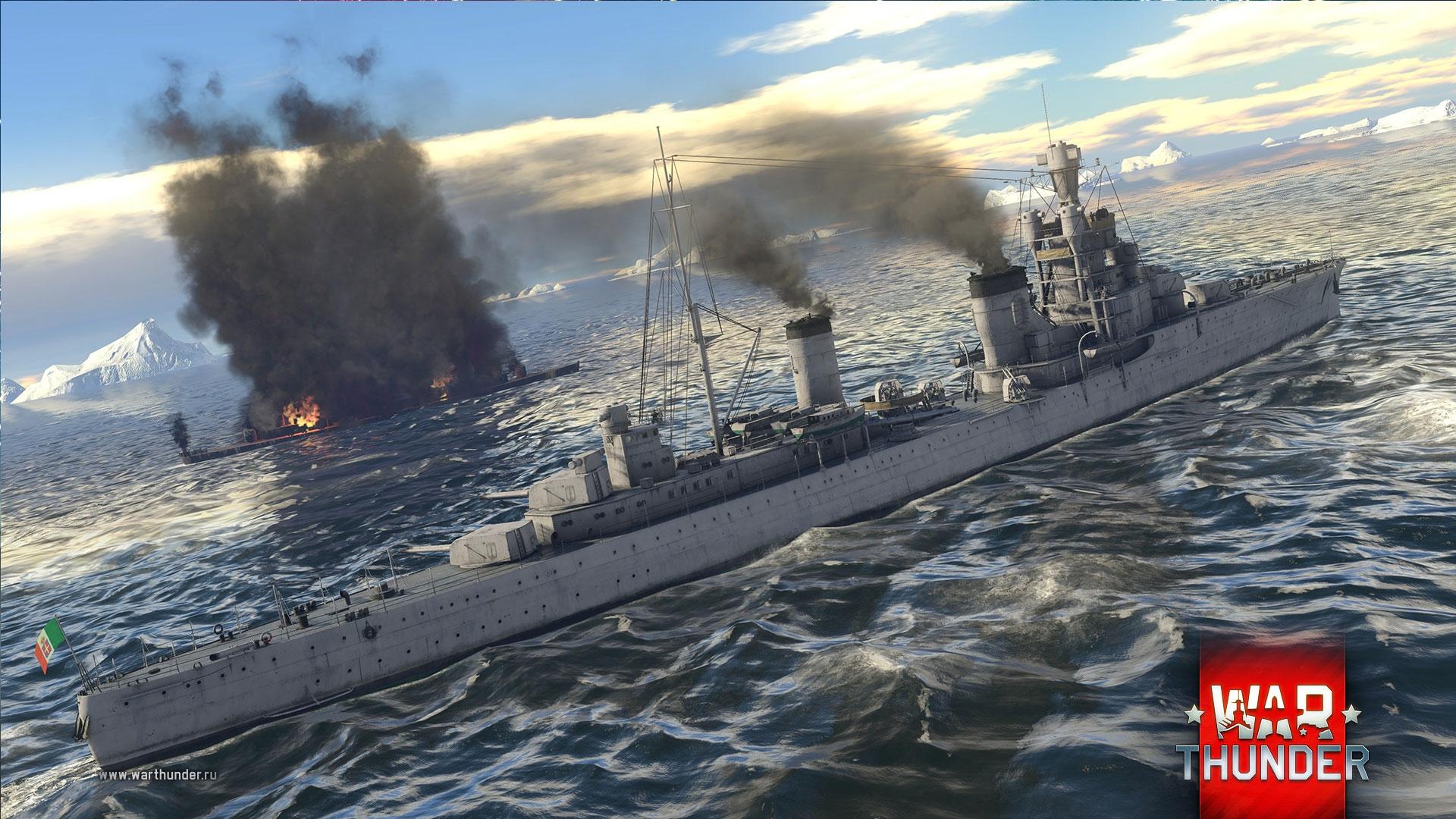 ВWar Thunder уже тестируются легкие крейсеры