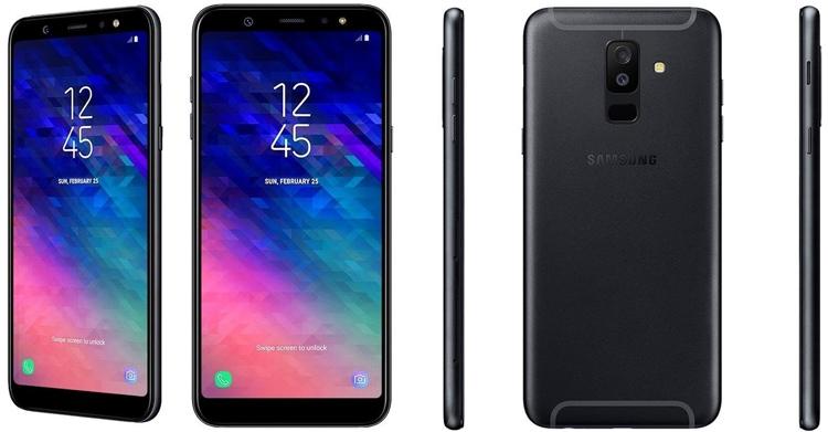 """Samsung Galaxy A6 и A6+: официальные характеристики и изображения смартфонов"""""""