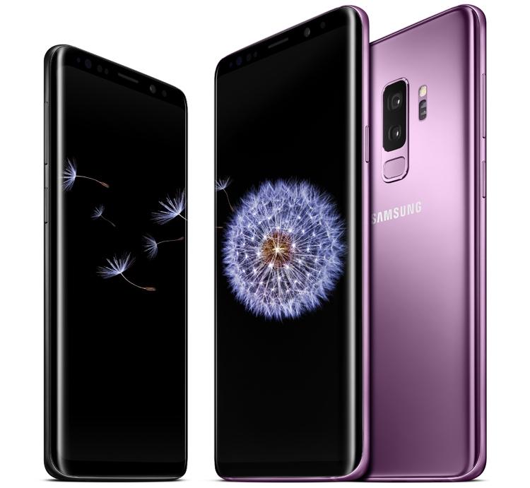 Смартфоны Samsung Galaxy S9 и S9+ 128 Гбайт