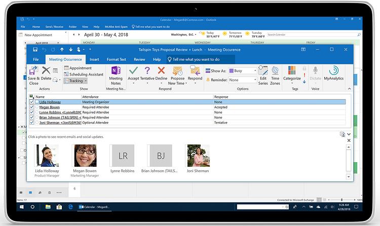 """Microsoft анонсировала ряд улучшений для почты Outlook"""""""