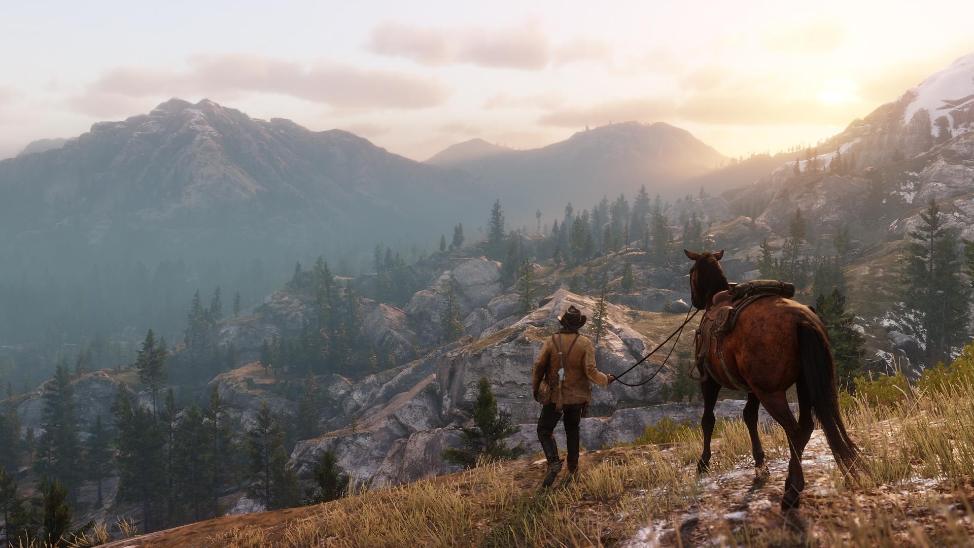 Новый трейлер Red Dead Redemption 2 от Rockstar Games