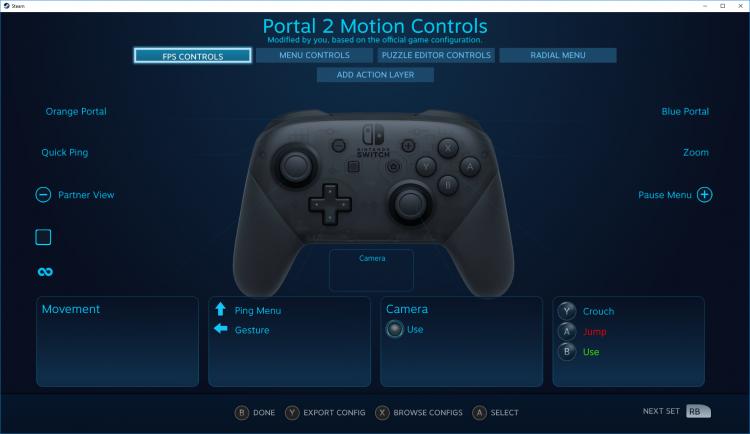 """В Steam появилась поддержка Nintendo Switch Pro с функцией прицеливания гироскопом"""""""