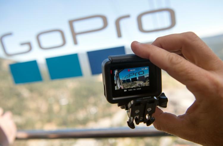 """GoPro сокращает убытки благодаря рекламе и контролю за расходами"""""""