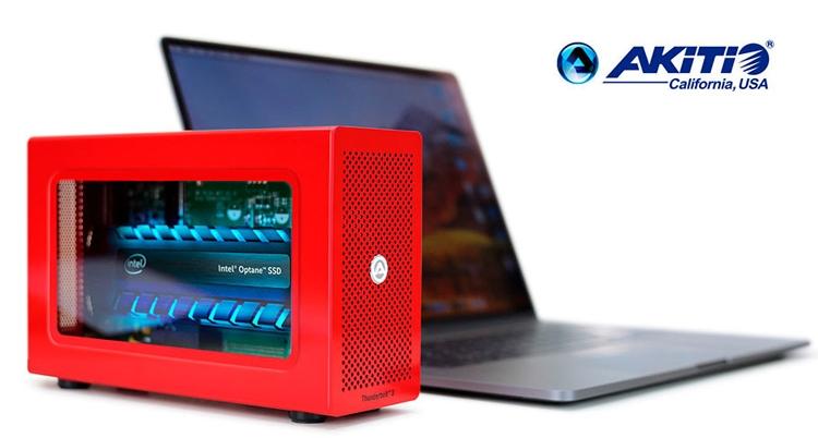 ak1 - Akitio Special Edition Node Lite: внешний накопитель на основе Intel Optane