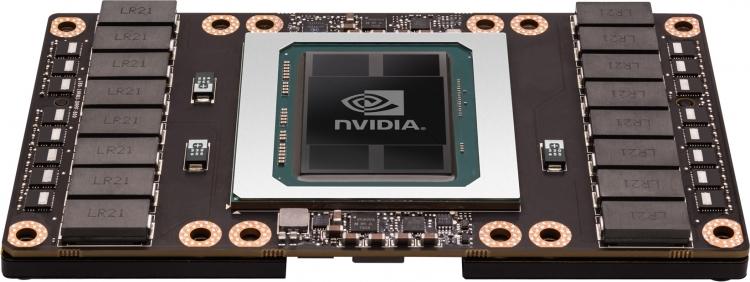 NVIDIA Tesla P100 (пример упаковки TSMC )