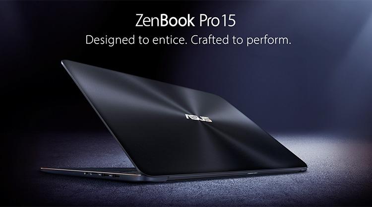 Новый ASUS ZenBook Pro 15 оснащён процессором Core i9