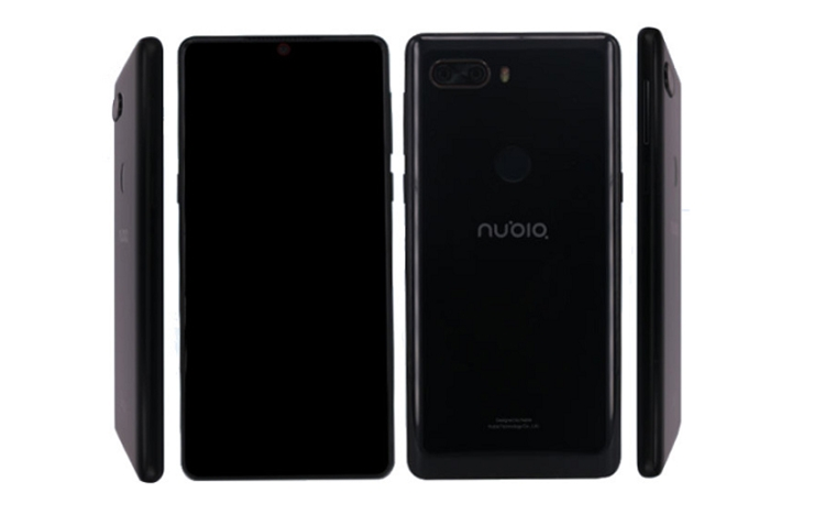 Компания Nubia тизерит новый полноэкранный смартфон