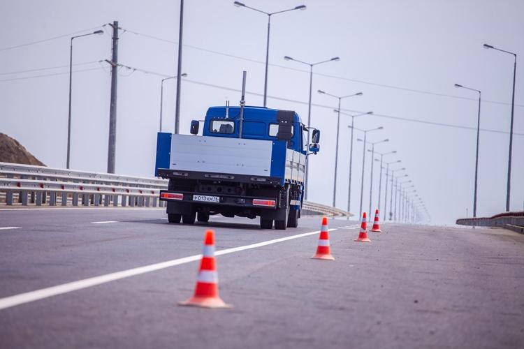 """На автоподходе к Крымскому мосту успешно испытаны российские робомобили"""""""