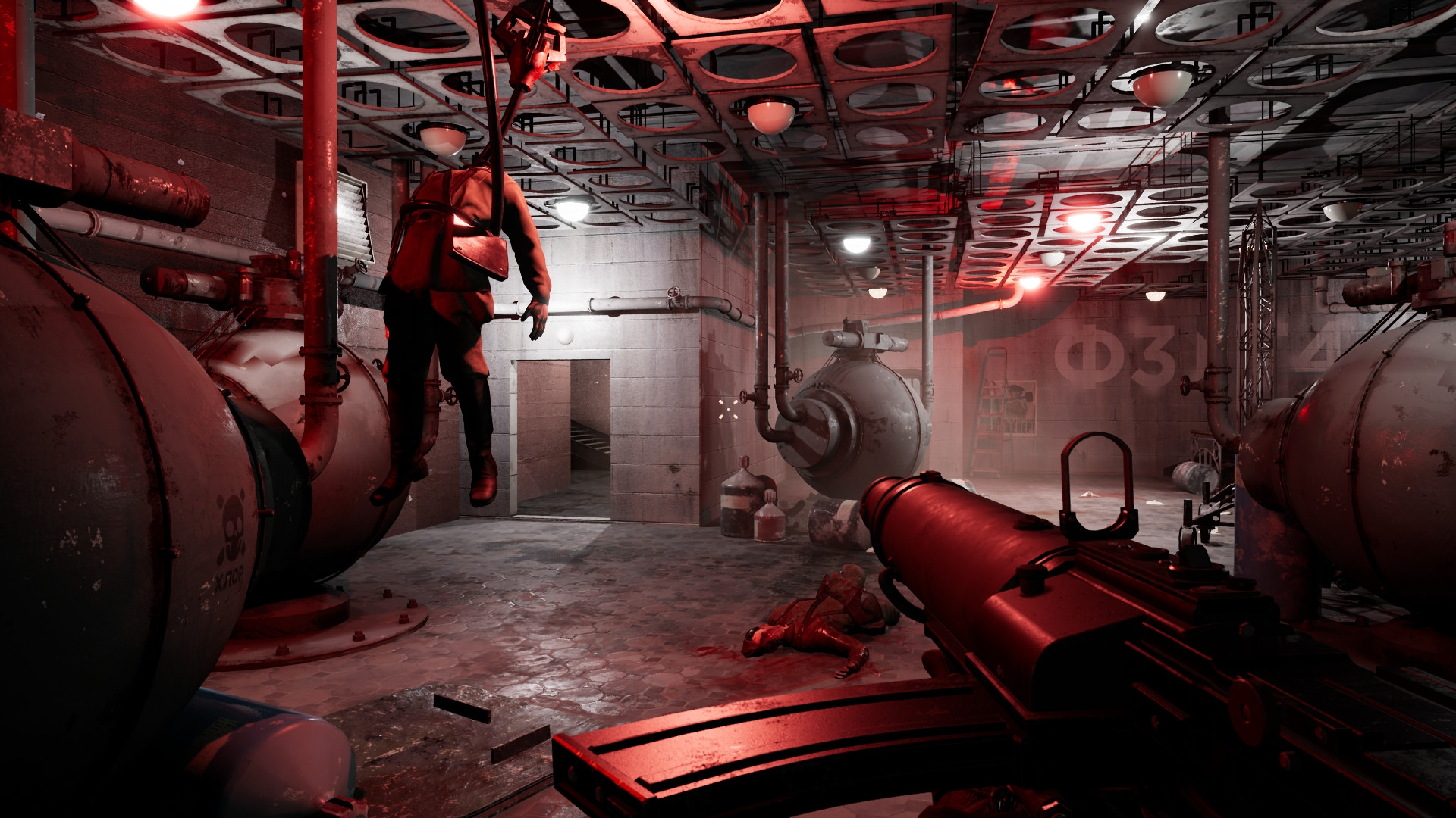 Русский BioShock: геймплейный трейлер Atomic Heart