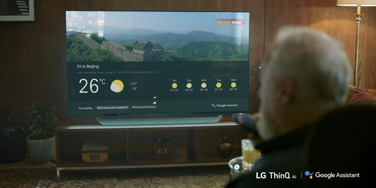 """Телевизоры LG обзавелись интеллектуальным помощником Google Assistant"""""""