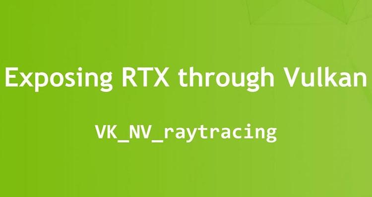 """NVIDIA работает над трассировкой лучей для Vulkan"""""""