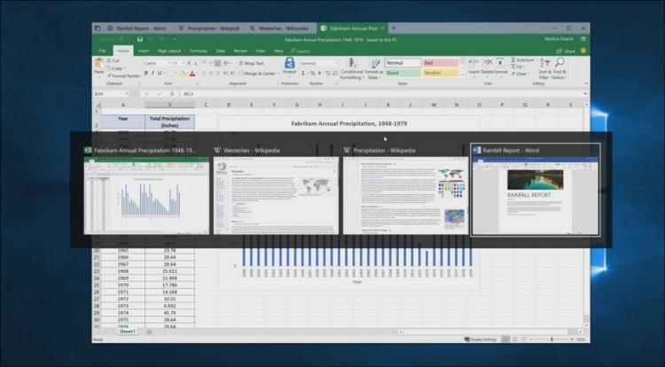 """Microsoft представила Sets, объединяющую приложения на вкладках в одном окне"""""""