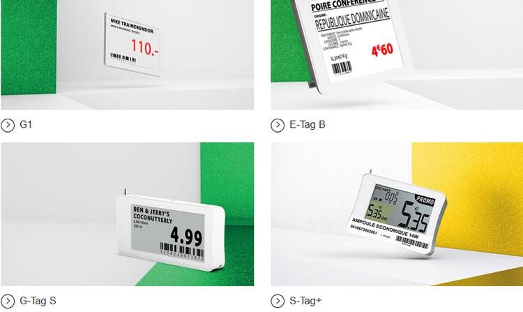 """E Ink инвестировала в европейского производителя электронных ценников с экранами"""""""