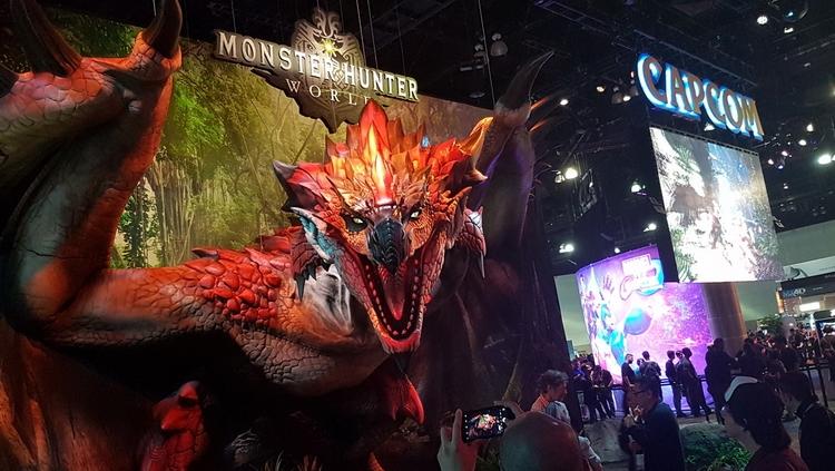 Capcom на E3 2017. Фото geekculture.co