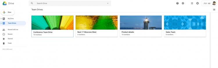 """Google переработала Drive в соответствии с новым дизайном Gmail"""""""