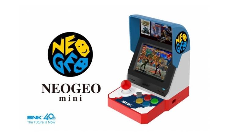 """SNK выпустит мини-версию культового игрового автомата Neo Geo MVS"""""""