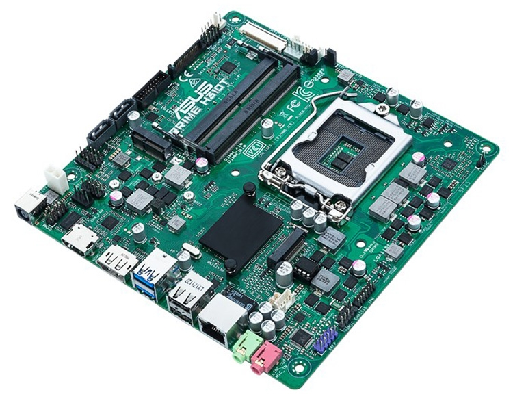 ASUS Prime H310T motherboard supports external power supplies
