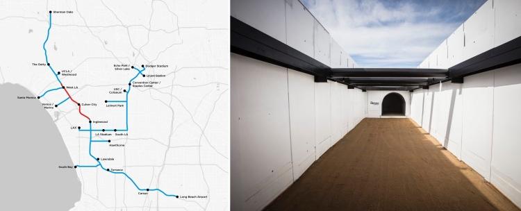"""Видео: Boring Company завершает прокладку первого тоннеля под Лос-Анджелесом"""""""