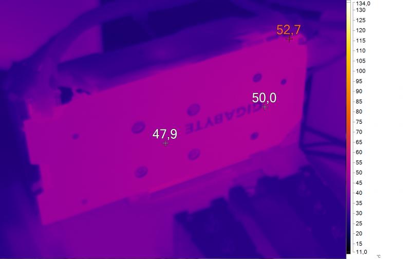 Нагрев GIGABYTE GV-N105TG1 GAMING-4GD