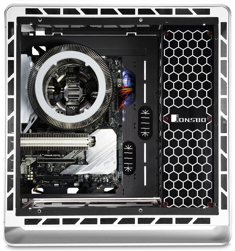 Конфигурация с Nofan CR-95C и GeForce GTX 1050 Ti