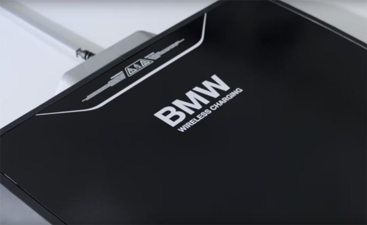 BMW придумала беспроводную зарядку для автомобиля