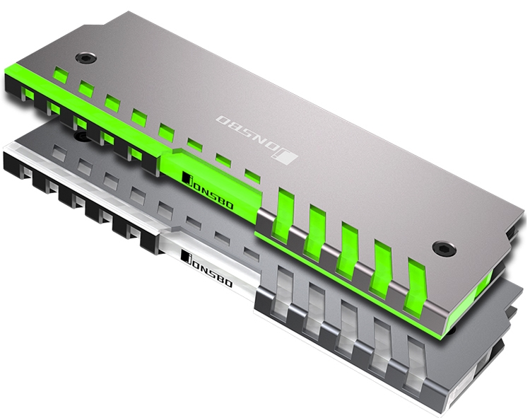 jb3 - Jonsbo NC-2: радиаторы охлаждения для модулей ОЗУ с многоцветной подсветкой
