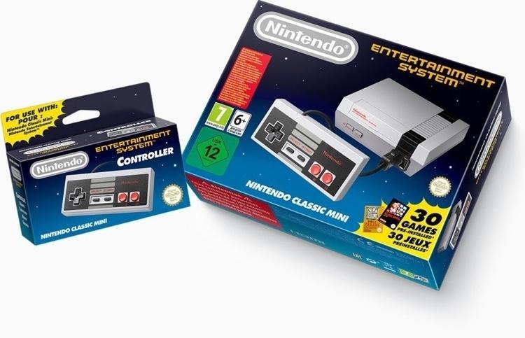 """Nintendo вернёт консоль NES Classic Edition на рынок 29 июня"""""""