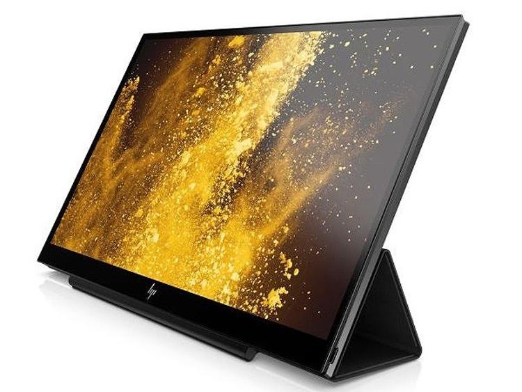 """HP EliteDisplay S14: портативный монитор с интерфейсом USB Type-C"""""""