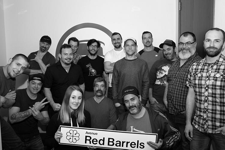 Команда Red Barrels в 2017 году. Фото outlast.wikia.com