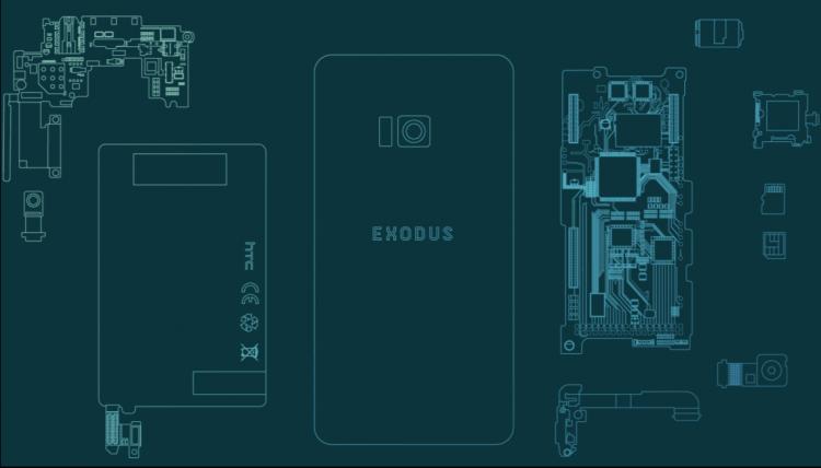 """HTC готовит к выпуску блокчейн-смартфон Exodus"""""""