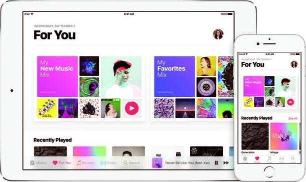 """Число подписчиков Apple Music достигло 50 млн"""""""
