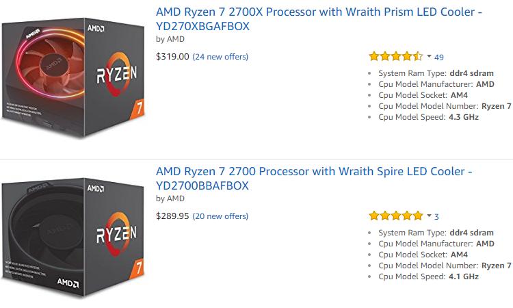 84 1b - Процессоры Ryzen 2000 понемногу дешевеют