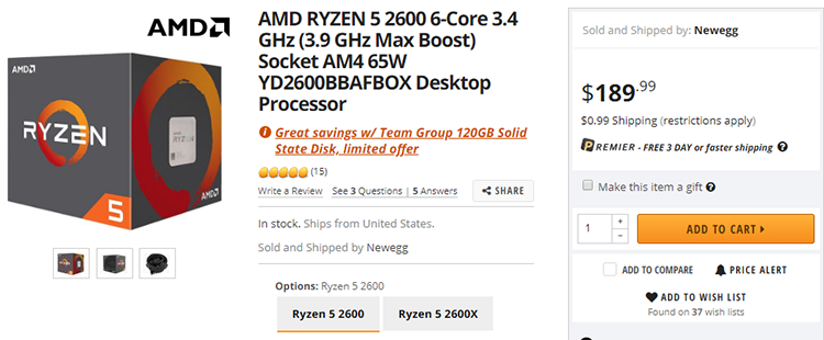 84 4 - Процессоры Ryzen 2000 понемногу дешевеют