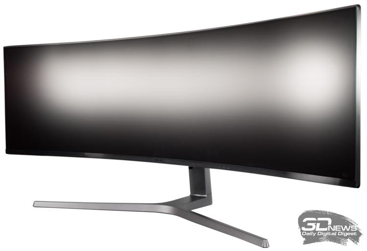 """Samsung проектирует изогнутый монитор с разрешением 5120 × 1440 точек"""""""