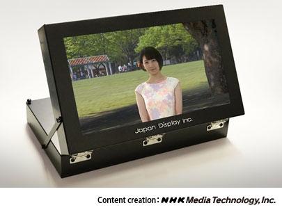 """Через год Japan Display и NHK начнут выпускать «настоящие» стереоскопические дисплеи"""""""