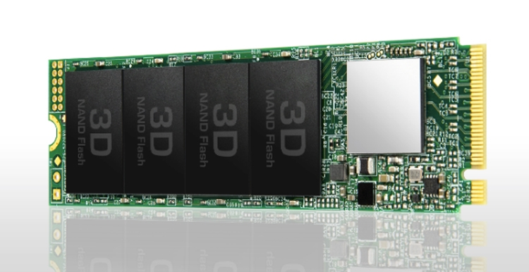 Transcend PCIe SSD 110S 128 Гб, 256 Гб, 512 Гб