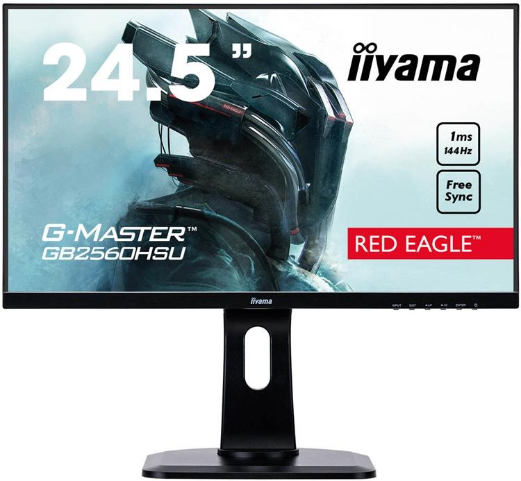 """Трио мониторов Iiyama G-Master с поддержкой технологии AMD FreeSync"""""""