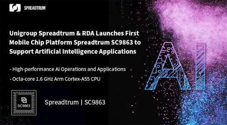 sc1 - Процессор Spreadtrum SC9863 рассчитан на смартфоны с поддержкой средств ИИ