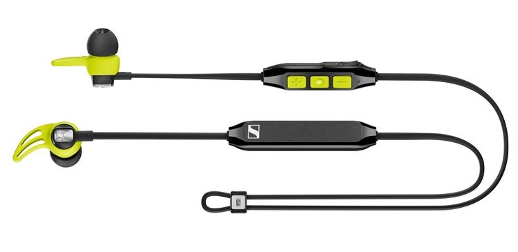 """Беспроводные наушники Sennheiser CX Sport работают без подзарядки до 6 часов"""""""