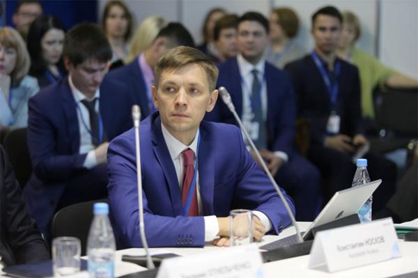 Министр цифрового развития и связи России Константин Носков (источник фото: Аналитический центр при Правительстве РФ)
