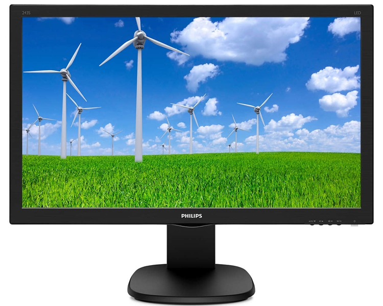 "Philips 221B8LJEB и 243S5LJMB: мониторы Full HD с технологией SmartContrast"""