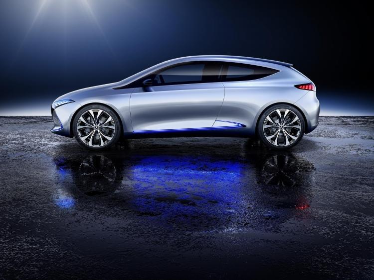 """Во Франции освоят производство компактных электромобилей Mercedes-Benz"""""""
