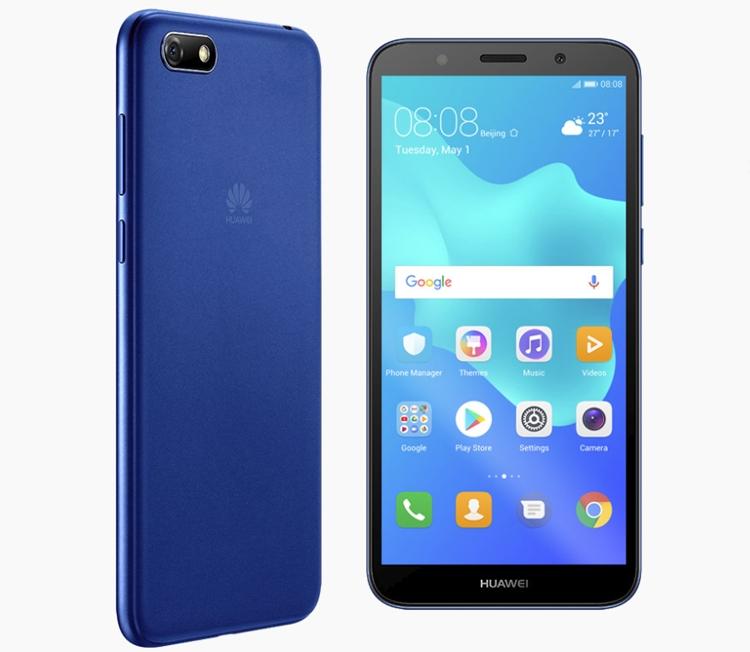 """Huawei Y5 Prime (2018): доступный смартфон с функцией распознавания владельца по лицу"""""""