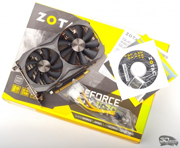 Обзор видеокарты ZOTAC GeForce GTX 1070 Ti Mini / Видеокарты