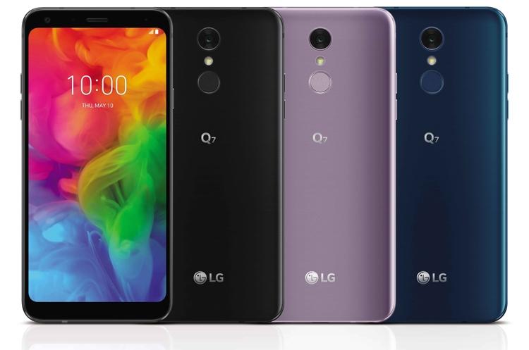 """Смартфон LG Q7 с экраном FHD+ FullVision дебютировал в трёх версиях"""""""