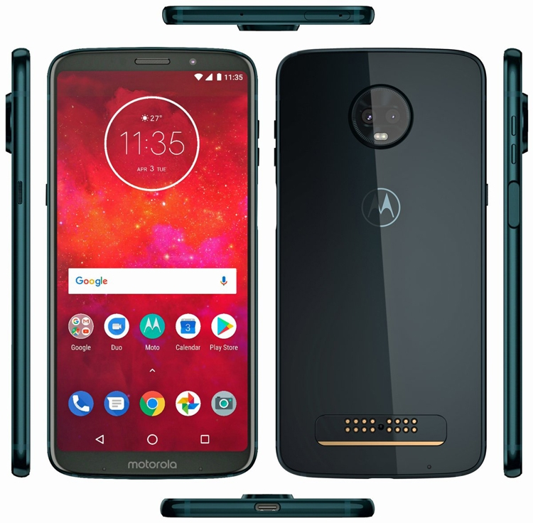 Смартфон Moto Z3 Play