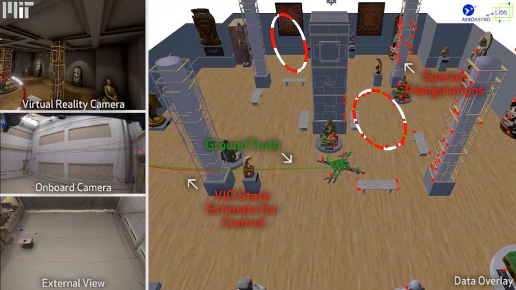 """Исследователи начали обучать дронов в виртуальной реальности во избежание столкновений"""""""